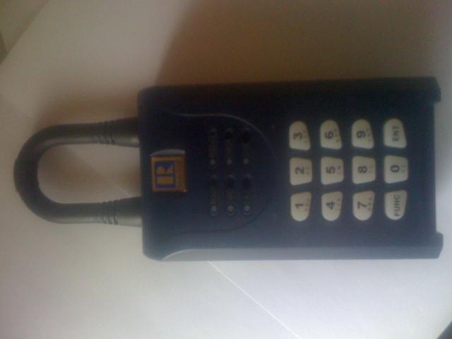 Sentrilock Electronic Lockbox